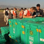 Rotary hjælper ofrene på Haiti med shelterbokse (Foto: Mark Pearson)
