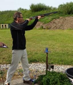 Anders Tromholt - Lerdueskydning - Hadsten Rotary Klub