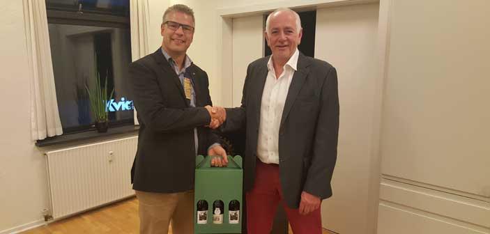 Anders Wejrup gæster Hadsten Rotary Klub