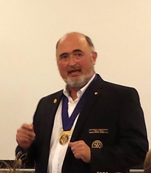 Guvernørbesøg i Hadsten Rotary Klub - 2013