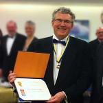 2011: Jens Søndergaard hædret med Paul Harris Fellow af Præsident Carl Chr. Kirketerp