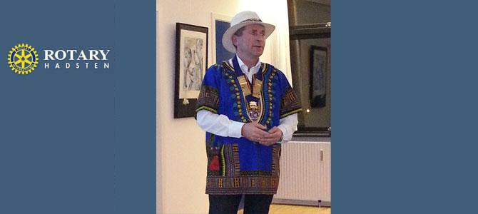 Hadsten Rotary Klub - Afrika foredrag - Poul Sørensen
