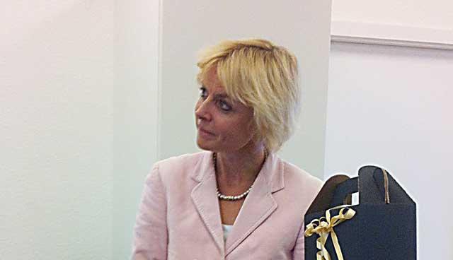 Lykke Friis besøger Hadsten Rotary Klub