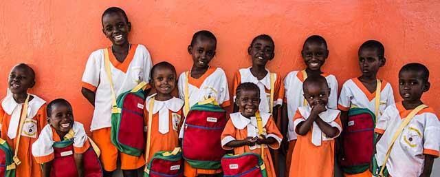 Børn fra børnehjemmet Upendo
